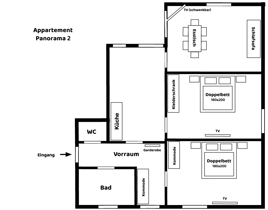 Appartement Panorama 2
