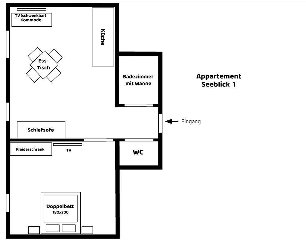 Appartement Seeblick 1
