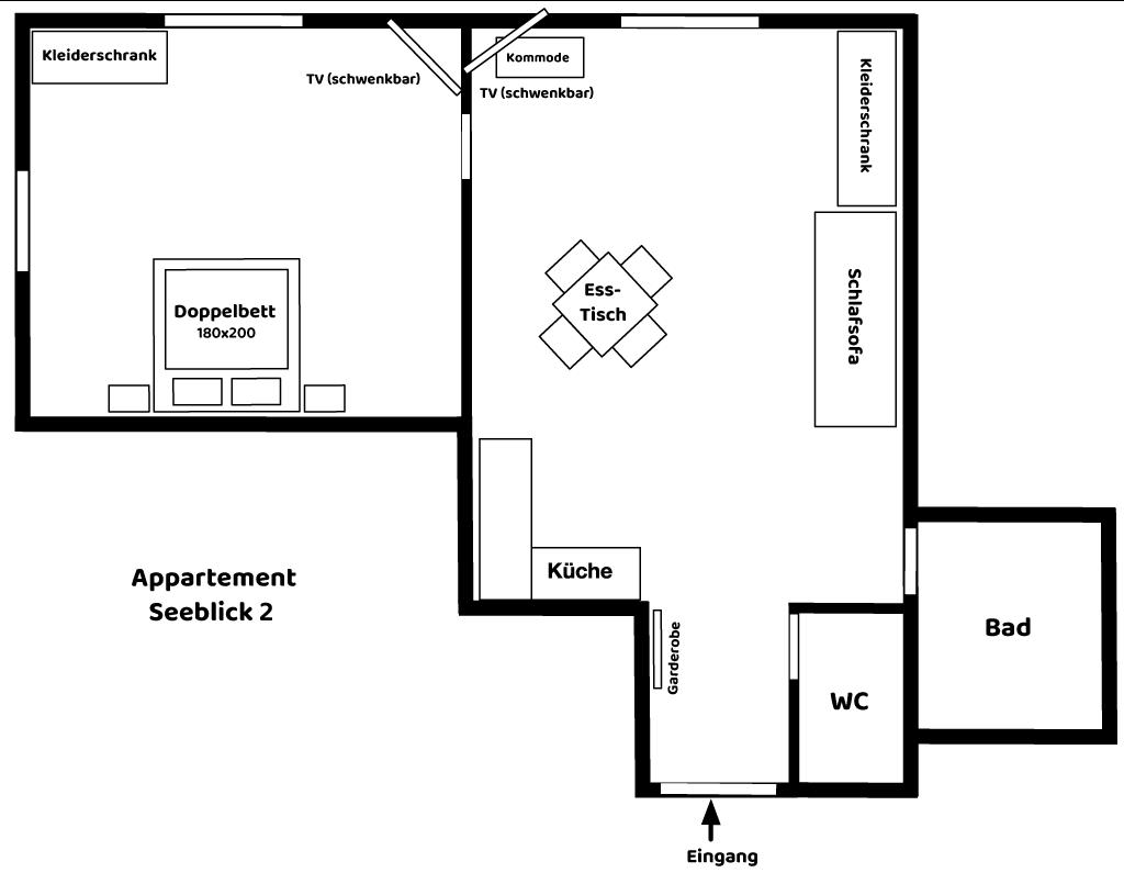 Appartement Seeblick 2