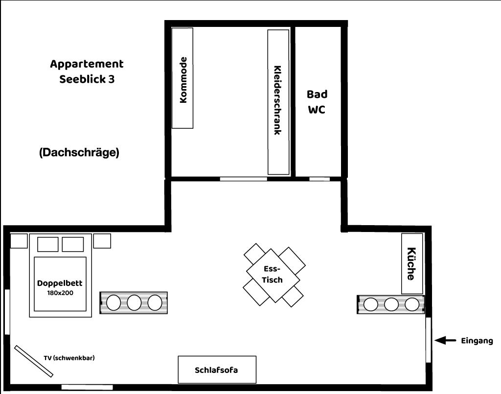 Appartement Seeblick 3