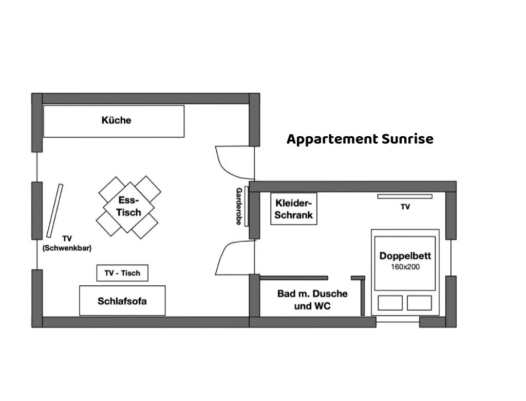 Appartement Sunrise