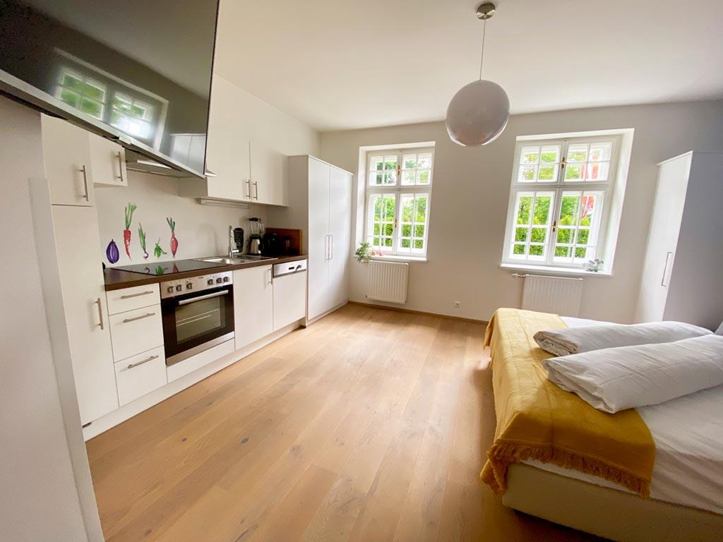 Appartement Aqua Küche