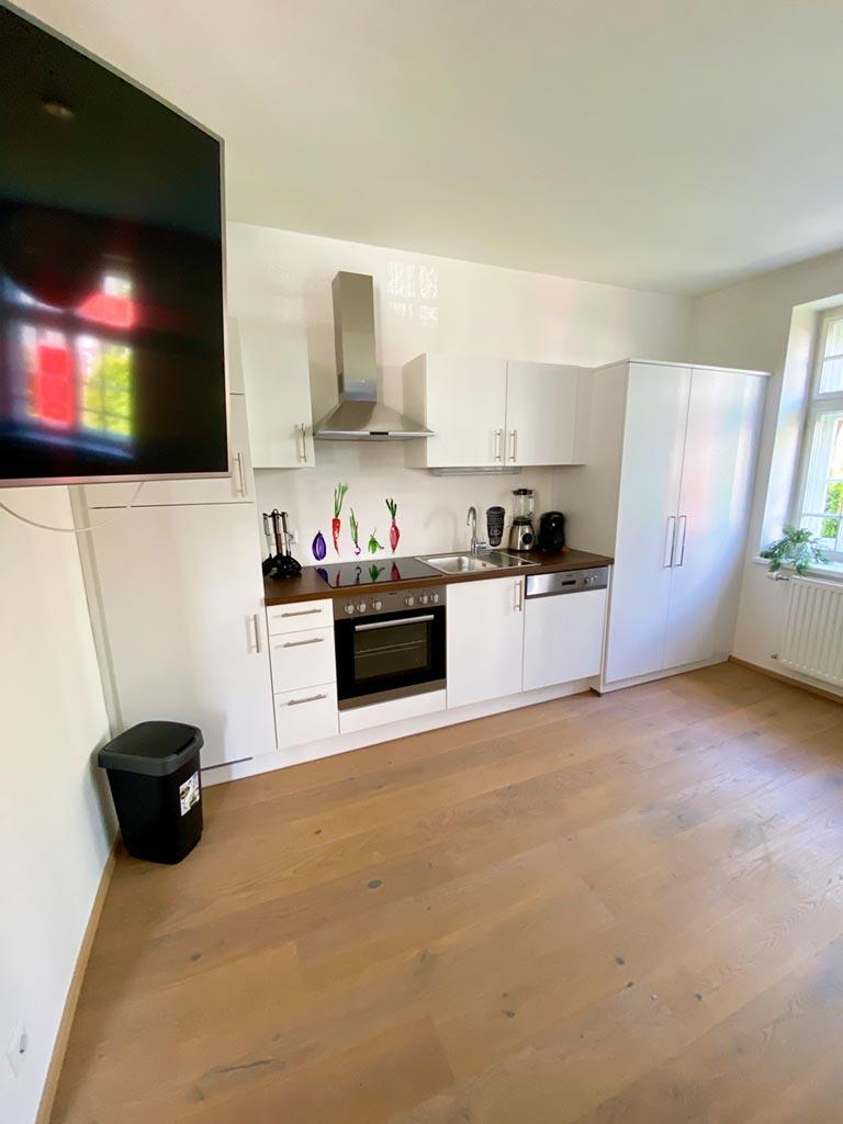 Appartement Aqua Küchenzeile