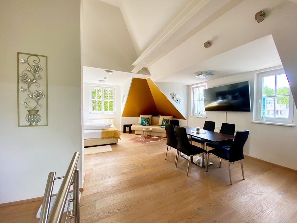 Appartement Golden touch Essbereich