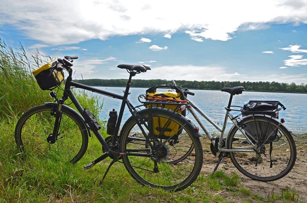 Radfahren in Velden